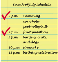 Fourth of July Itinerary sized 2