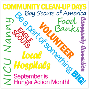 Volunteer in your community!
