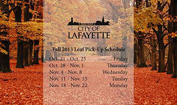 Lafayette Schedule