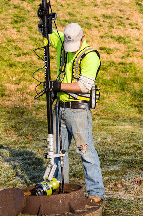 Pole Camera for Sewer Inspections