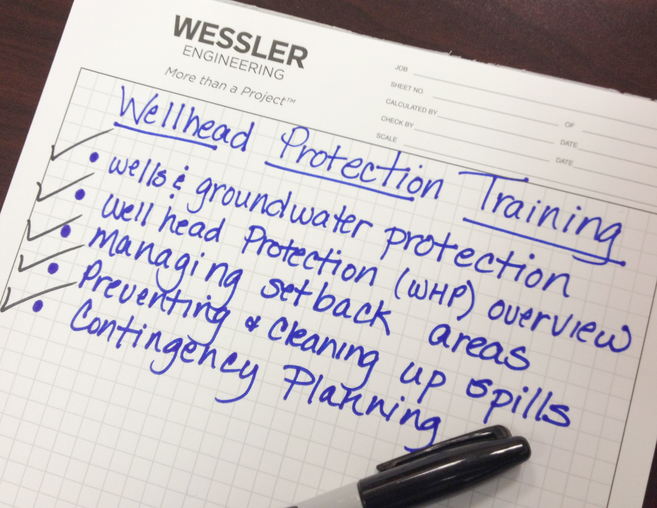 In case you missed it...Wellhead Protection Training for Utility Employees [Webinar]