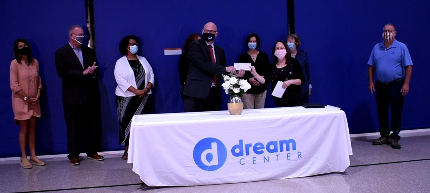 Evansville's 15th anniversary celebrated with Dream Center donation