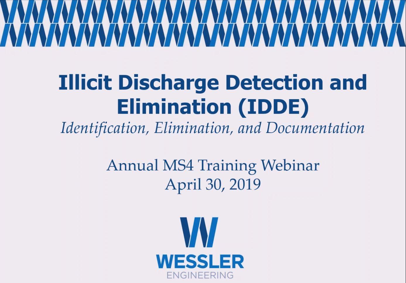 [Webinar Recording] Illicit Discharge Detection and Elimination