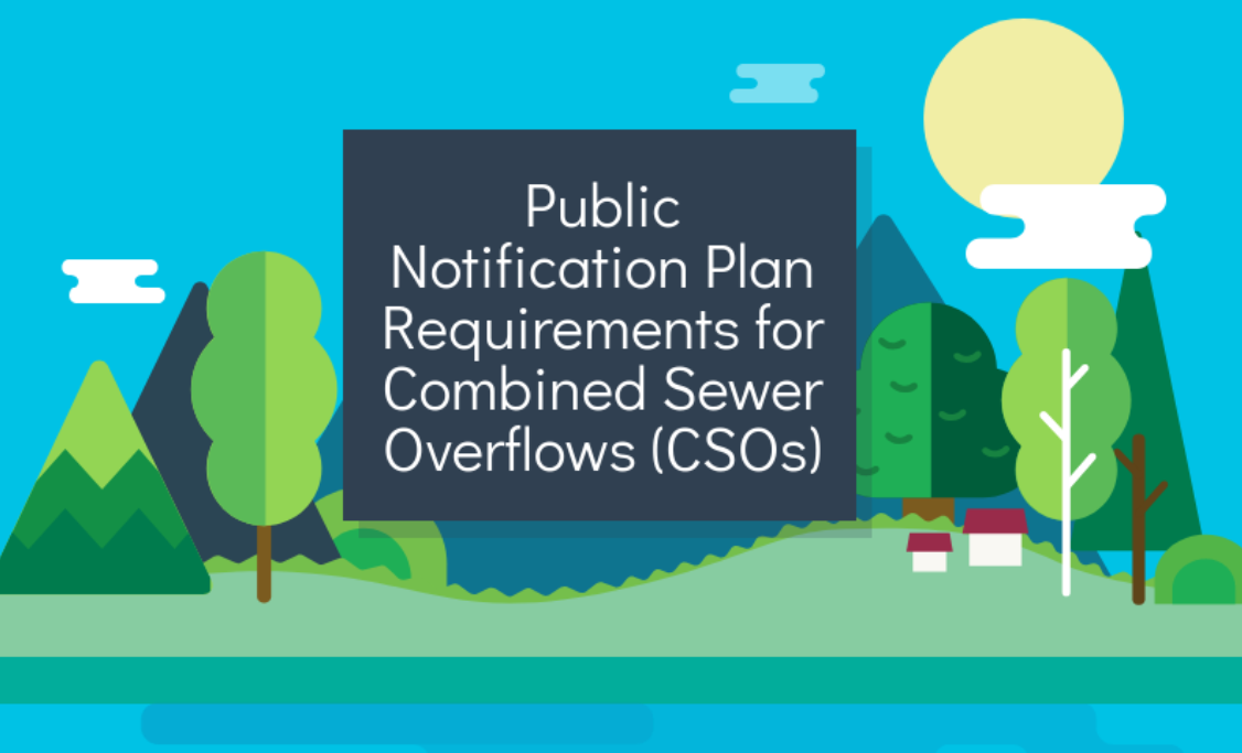 {Infographic} Public Notification Plan Requirements for Combined Sewer Overflows (CSOs)