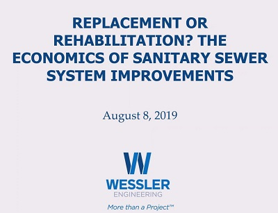 (Webinar Recording) Replacement or Rehabilitation? The Economics of Sanitary Sewer Improvements
