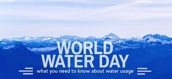 It's World Water Day! Do You Know How Much Water You Might Actually Use?